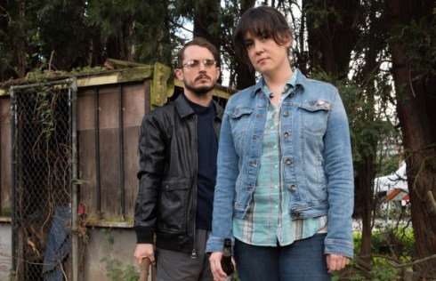 Elijah Wood and Melanie Lynskey appear in I Don't Feel at Home in This World Anymore by Macon Blair, an official selection of the U.S. Dramatic Competition at the 2017 Sundance Film Festival. Courtesy of Sundance Institute | photo by Allyson Riggs.